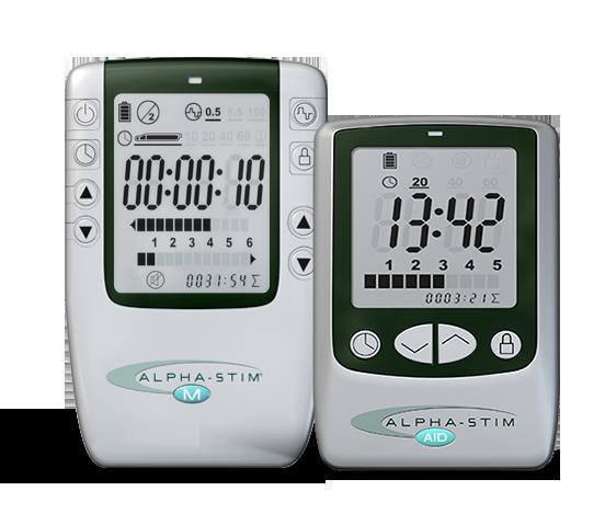 Alpha-Stim AID og M apparater